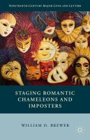 Cover image for Staging Romantic Chameleons and Imposters