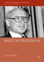 Cover image for Milton Friedman