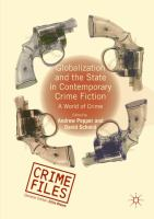 Cover image for Globalization and the State in Contemporary Crime Fiction A World of Crime