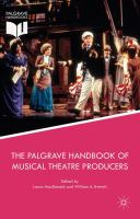 Cover image for The Palgrave Handbook of Musical Theatre Producers