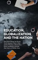 Cover image for Education, Globalization and the Nation