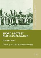 Cover image for Sport, Protest and Globalisation Stopping Play