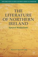 Cover image for The Literature of Northern Ireland Spectral Borderlands
