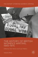 Cover image for The History of British Women's Writing, 1945–1975