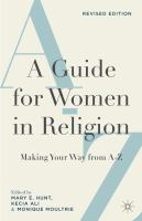 Cover image for A Guide for Women in Religion, Revised Edition Making Your Way from A to Z