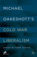Cover image for Michael Oakeshott's Cold War Liberalism
