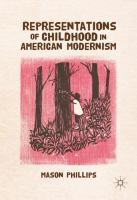 Cover image for Representations of Childhood in American Modernism
