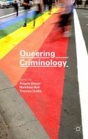 Cover image for Queering Criminology