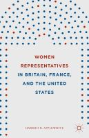 Cover image for Women Representatives in Britain, France, and the United States
