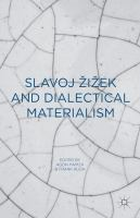 Cover image for Slavoj Žižek and Dialectical Materialism