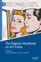 Cover image for The Palgrave Handbook on Art Crime