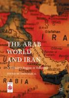 Cover image for The Arab World and Iran A Turbulent Region in Transition