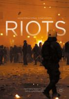 Cover image for Riots An International Comparison