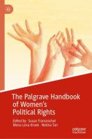 Cover image for The Palgrave Handbook of Women's Political Rights