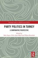 Cover image for Party politics in Turkey a comparative perspective