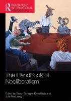Cover image for The handbook of neoliberalism