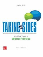 Cover image for Taking sides : clashing views in world politics