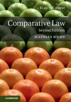 Cover image for Comparative law