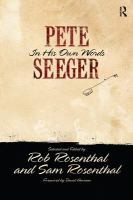 Cover image for Pete Seeger in his own words