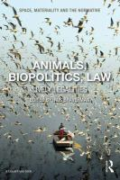 Cover image for Animals, biopolitics, law : lively legalities