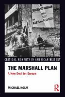 Cover image for The Marshall Plan : a new deal for Europe