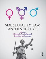 Cover image for Sex, sexuality, law, and (in)justice