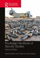 Cover image for Routledge handbook of security studies