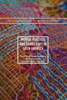 Cover image for Women, Politics, and Democracy in Latin America
