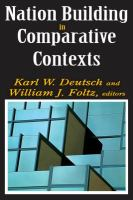 Cover image for Nation building in comparative contexts
