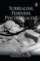 Cover image for Surrealism, feminism, psychoanalysis