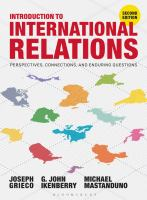 Cover image for Introduction to international relations : perspectives, connections, and enduring questions