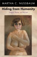 Cover image for Hiding from Humanity Disgust, Shame, and the Law