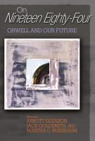 Cover image for On nineteen eighty-four Orwell and our future