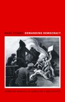 Cover image for Demanding Democracy American Radicals in Search of a New Politics
