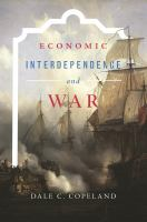 Cover image for Economic Interdependence and War