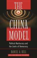 Cover image for The China Model Political Meritocracy and the Limits of Democracy