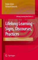 Cover image for Lifelong Learning – Signs, Discourses, Practices