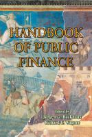 Cover image for Handbook of Public Finance