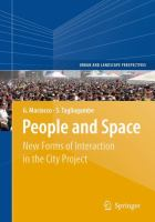 Cover image for People and Space New Forms of Interaction in the City Project