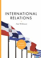 Cover image for İnternational relations