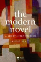 Cover image for The modern novel : a short introduction