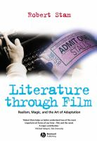 Cover image for Literature through film : realism, magic, and the art of adaptation