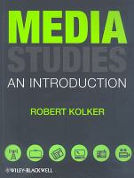 Cover image for Media studies : an introduction