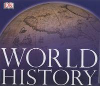 Cover image for DK world history atlas