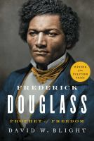 Cover image for Frederick Douglass : prophet of freedom