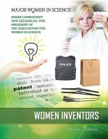 Cover image for Women inventors