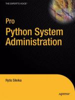 Cover image for Pro Python System Administration