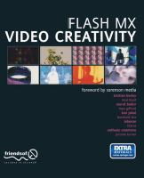 Cover image for Flash Video Creativity
