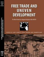 Cover image for Free Trade & Uneven Development