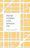 Cover image for Women in Politics in the American City